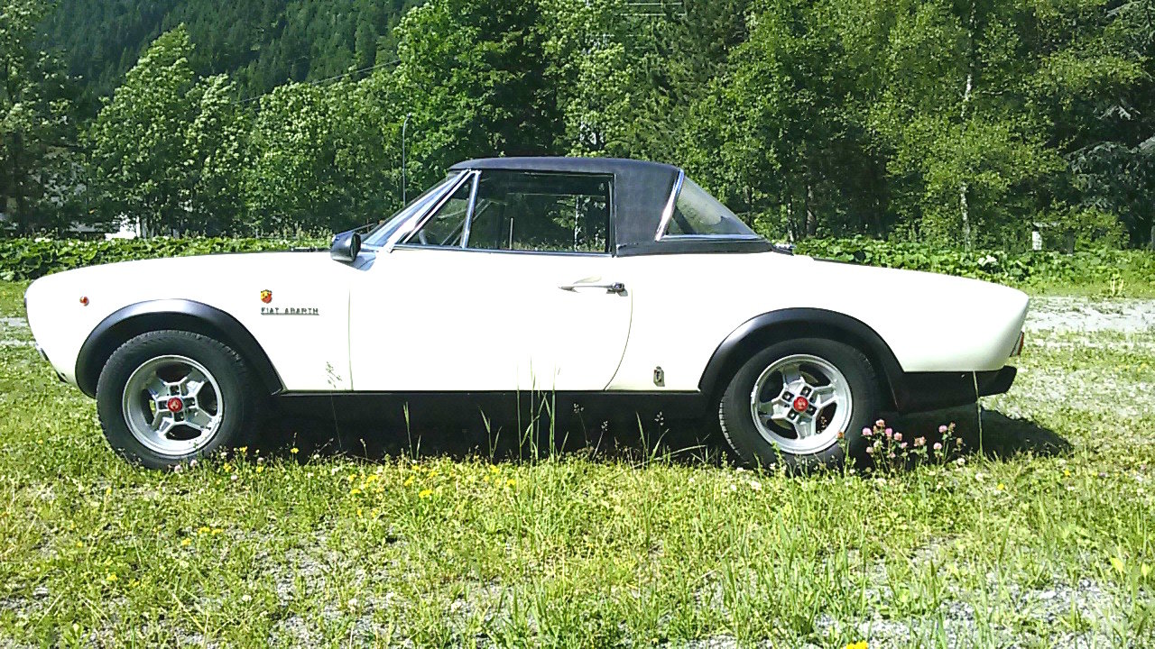 1973 Real Fiat 124 Abarth preserved, for sale For Sale (picture 1 of 4)