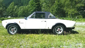 Real Fiat 124 Abarth preserved, for sale