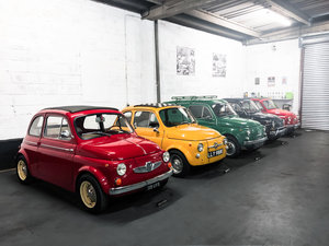 The best selection of classic Fiat 500s in the UK