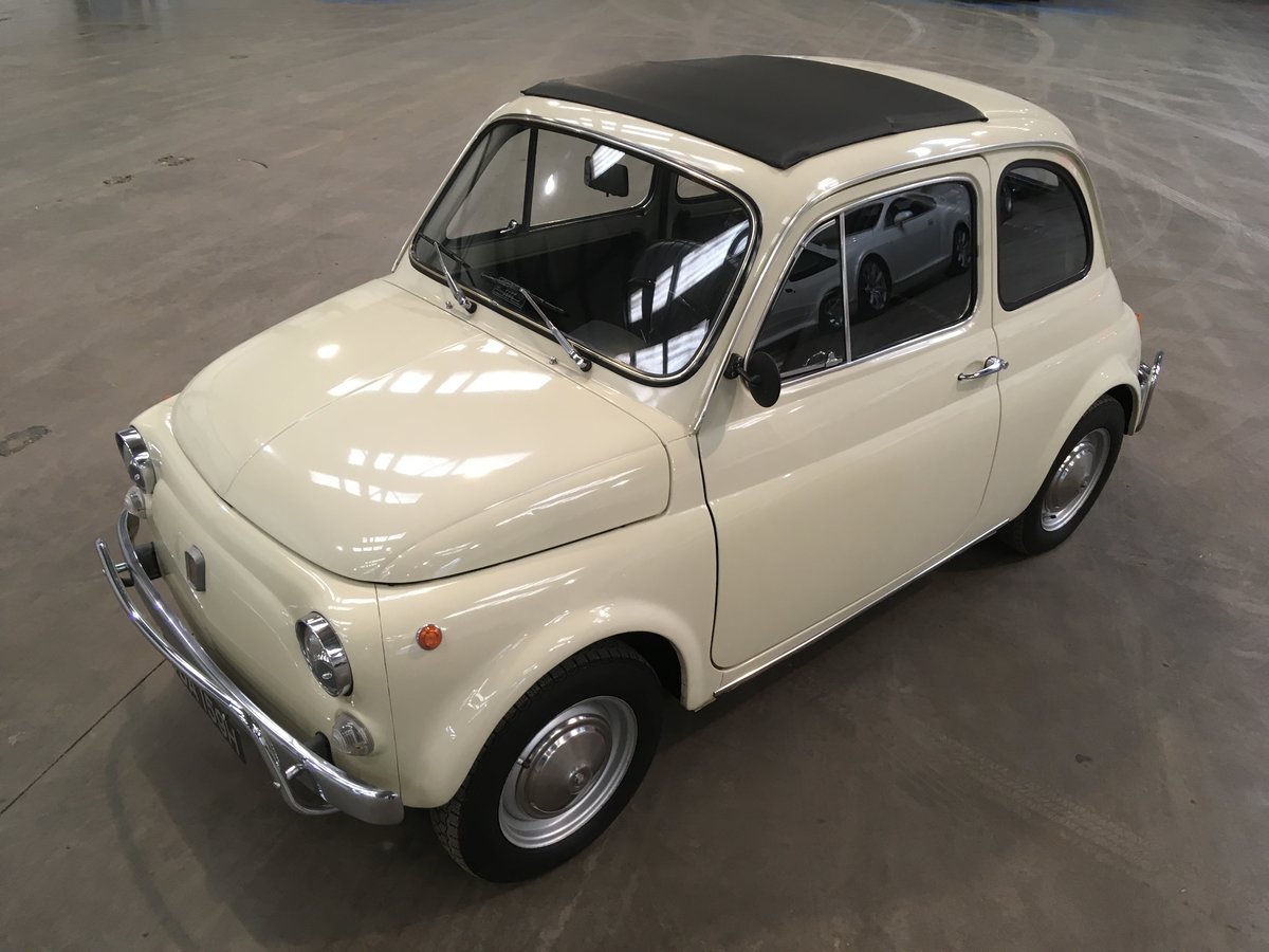 1969 Fiat 500L from private collection  For Sale by Auction (picture 1 of 5)
