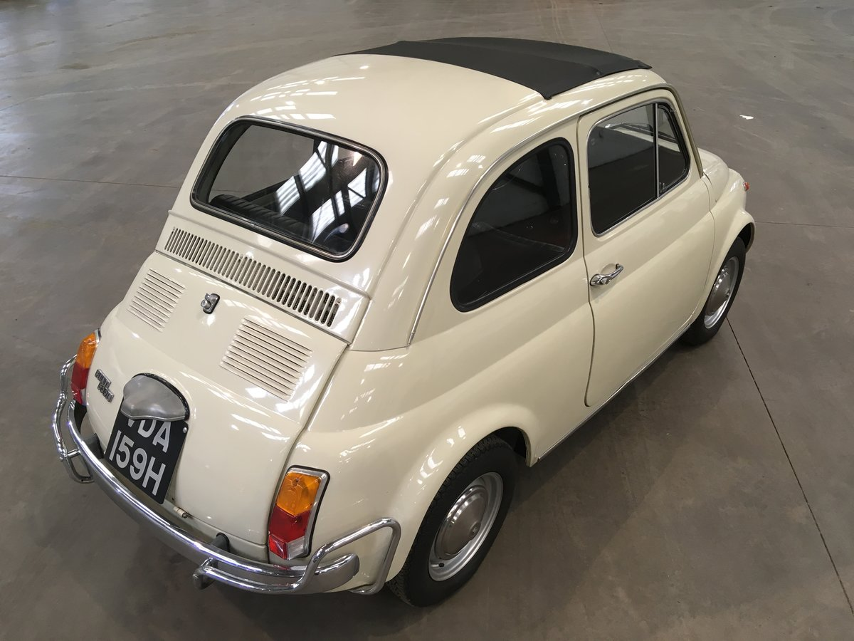 1969 Fiat 500L from private collection  For Sale by Auction (picture 2 of 5)