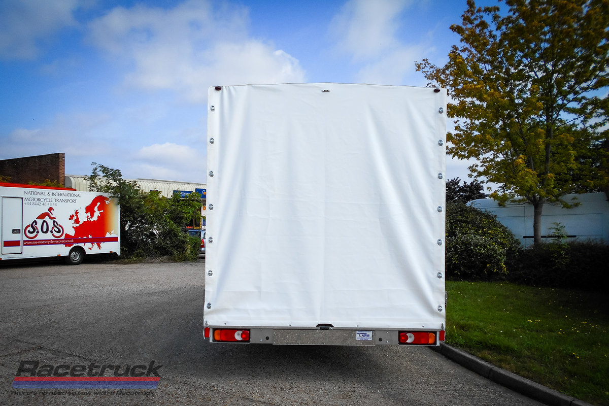 2021 Racetruck – Covered Car Transporter For Sale (picture 4 of 5)