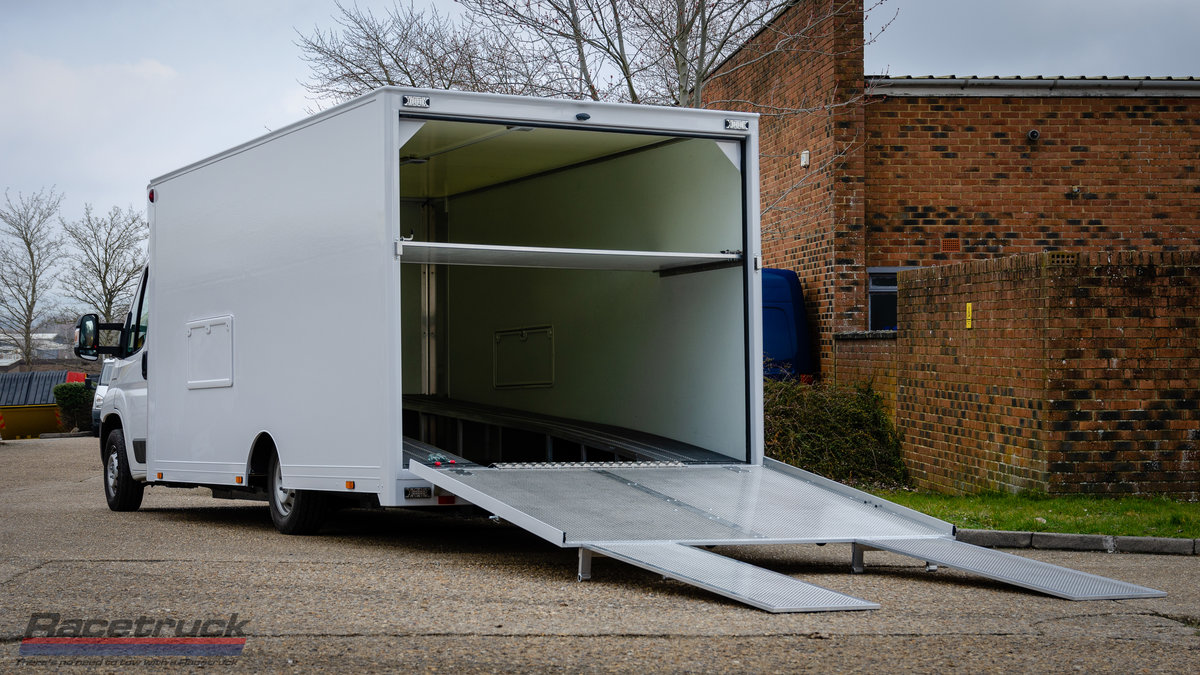 2021 Racetruck – Enclosed F1 Race Car Transporter For Sale (picture 1 of 5)