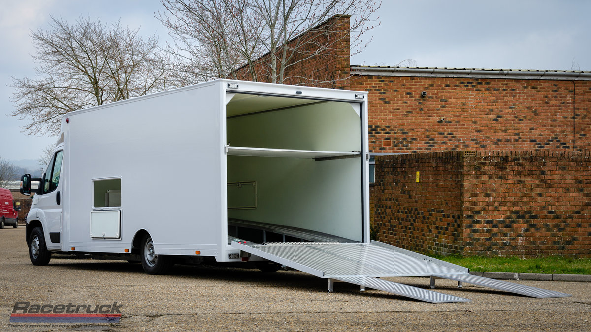 2021 Racetruck – Enclosed F1 Race Car Transporter For Sale (picture 3 of 5)