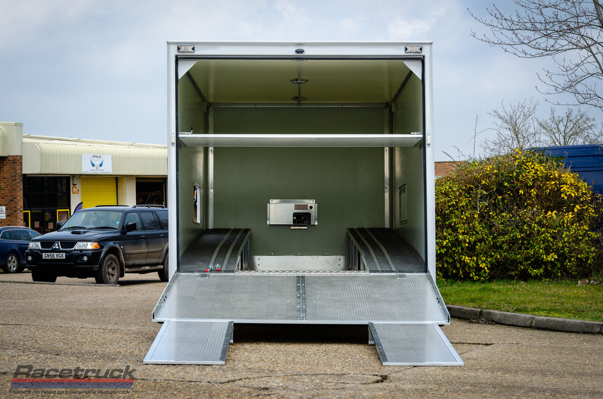 2021 Racetruck – Enclosed F1 Race Car Transporter For Sale (picture 4 of 5)