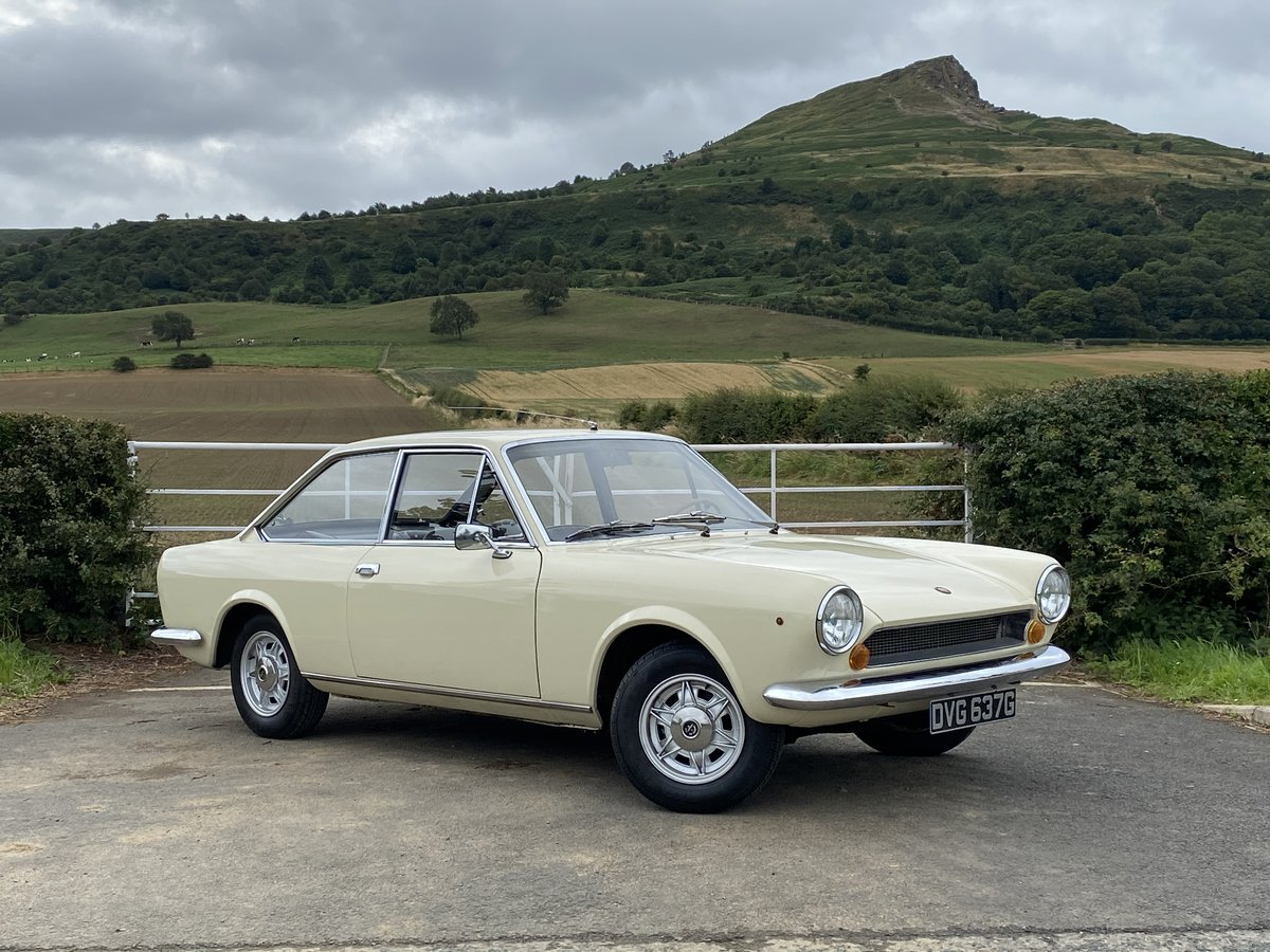 1968 FIAT 124 SPORT AC COUPE - LHD STUNNING CONDITION  For Sale (picture 1 of 6)