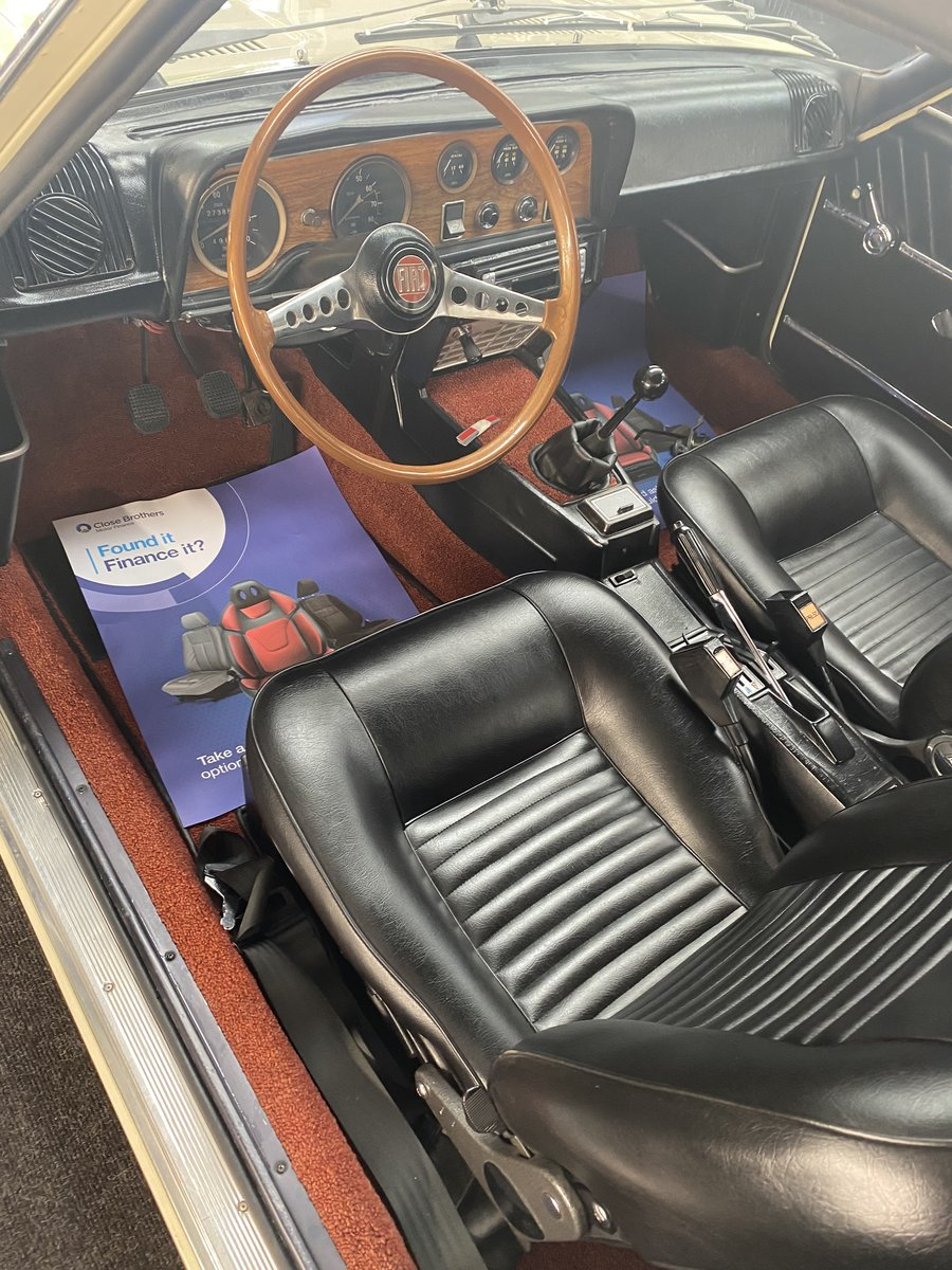 1968 FIAT 124 SPORT AC COUPE - LHD STUNNING CONDITION  For Sale (picture 4 of 6)