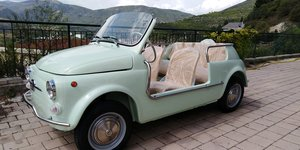 Fiat 500 Jolly Spiaggina Exact Replica Like New also in RHD