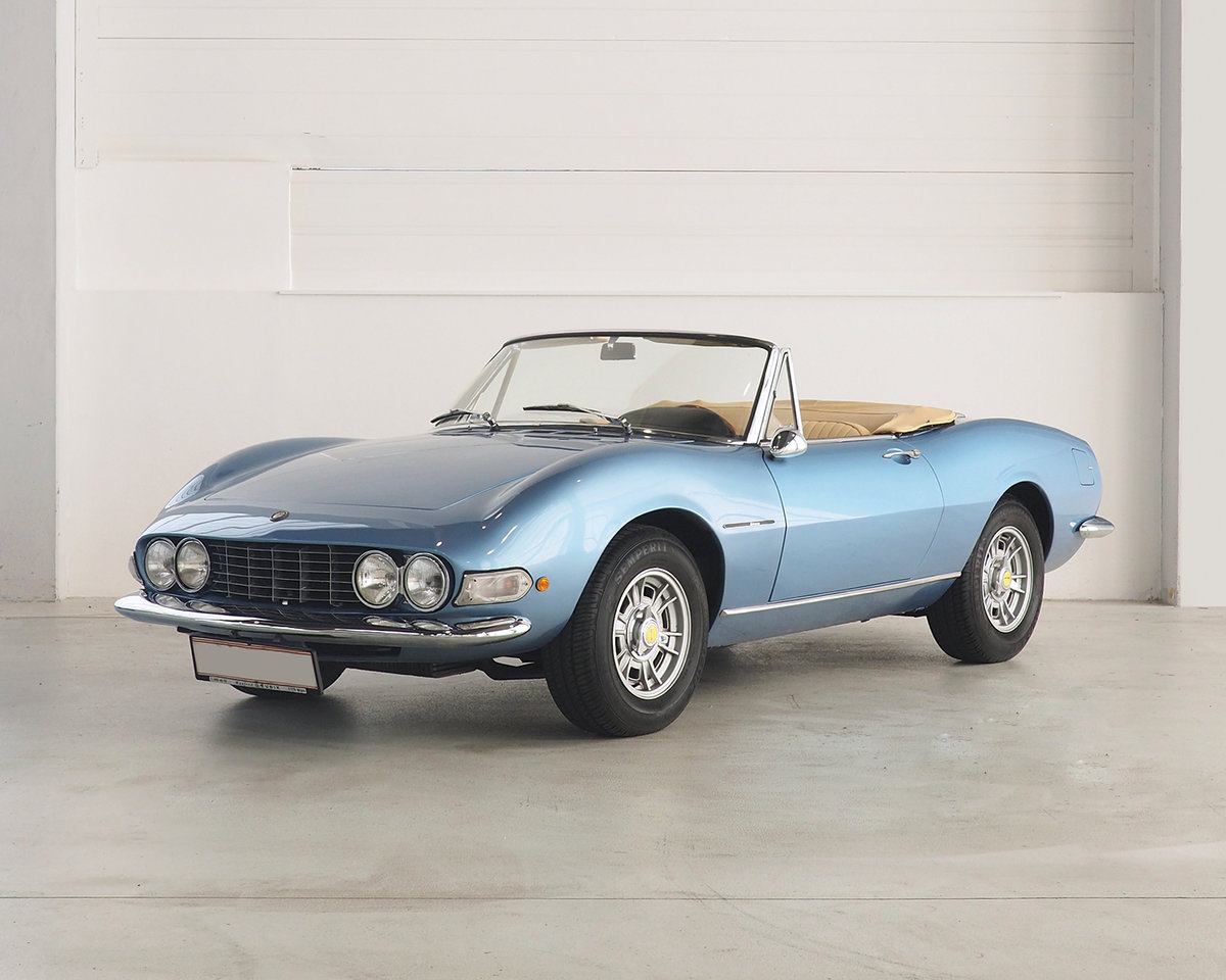 1967 Fiat Dino Spider For Sale by Auction (picture 1 of 6)