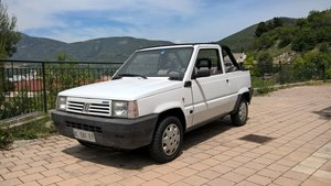 1990 Fiat Panda Cabrio 1000 with 129,000 orig kms