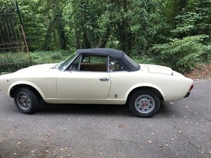 1979 1990 Fiat 124 Spider Classic Beauty - on the road