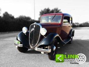 FIAT Balilla 4 marce 1936, Targa oro ASI, Restauro professi