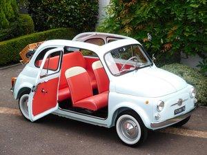 Fiat 500D Trasformabile 1963 / LHD Italian – Restored! For Sale