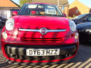 Picture of 2013 FIAT 500 L  MPV RED DIESEL 70,000 MILES F.S.H NEW MOT