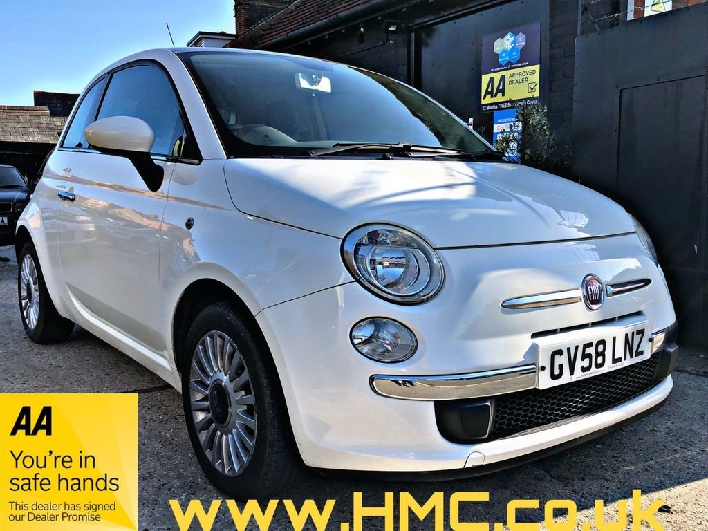 2009 Fiat 500 1.3 MultiJet Lounge 3dr For Sale (picture 1 of 3)