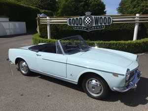 Fiat 1500 cabriolet LHD 1964