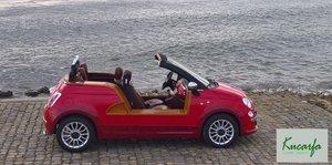 2012 Fiat 500 (modern Jolly) Ischia by Castagna Milano - one off