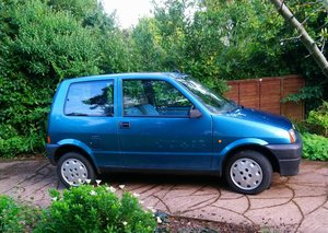 1996 Fiat Cinquecento 'S' One owner for 22 years