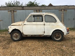 Picture of 0000 Fiat 500 D classic car project  SOLD