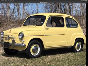 1971 Fiat 600 D
