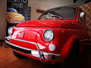 1972 - RED FIAT 500 L - Basic Restoration by DenittoClassics