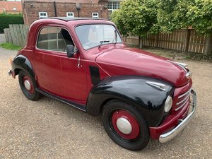*REMAINS AVAILABLE - AUGUST AUCTION* 1953 Fiat Topolino RHD For Sale by Auction