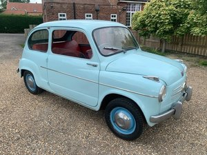 *REMAINS AVAILABLE - AUGUST AUCTION* 1957 Fiat 600 For Sale by Auction
