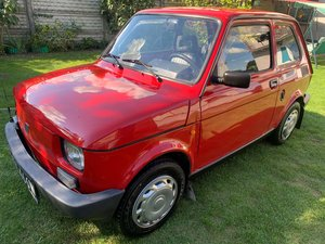 1999 Fiat 126-unique, last edition