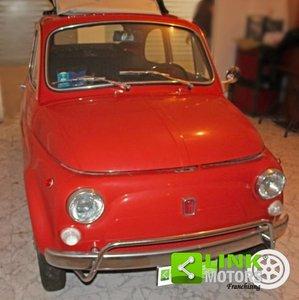 1969 FIAT - 500 L D'EPOCA - RESTAURA - ROSSO CORALLO For Sale