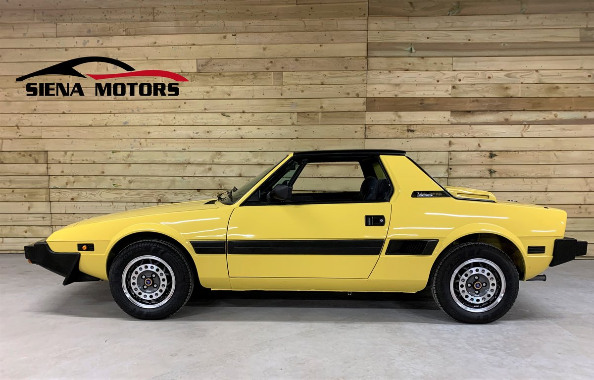 1988 FIAT X1/9 1500 BERTONE   NOW SOLD For Sale (picture 1 of 6)
