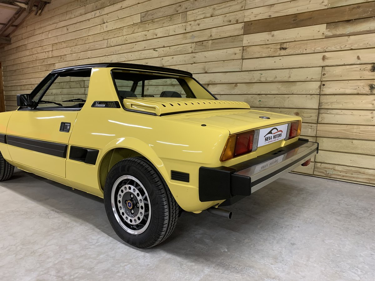 1988 FIAT X1/9 1500 BERTONE   NOW SOLD For Sale (picture 3 of 6)
