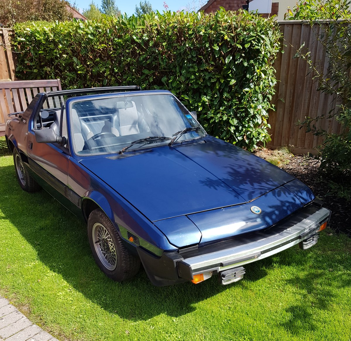 1989 Fiat x19 Bertone Gran Finale *New MOT*  For Sale (picture 1 of 6)