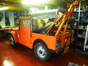 1968 Fiat Campagnola tow truck