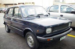 Fiat 127 900 CL 4 Porte - Doc e Targhe Originali