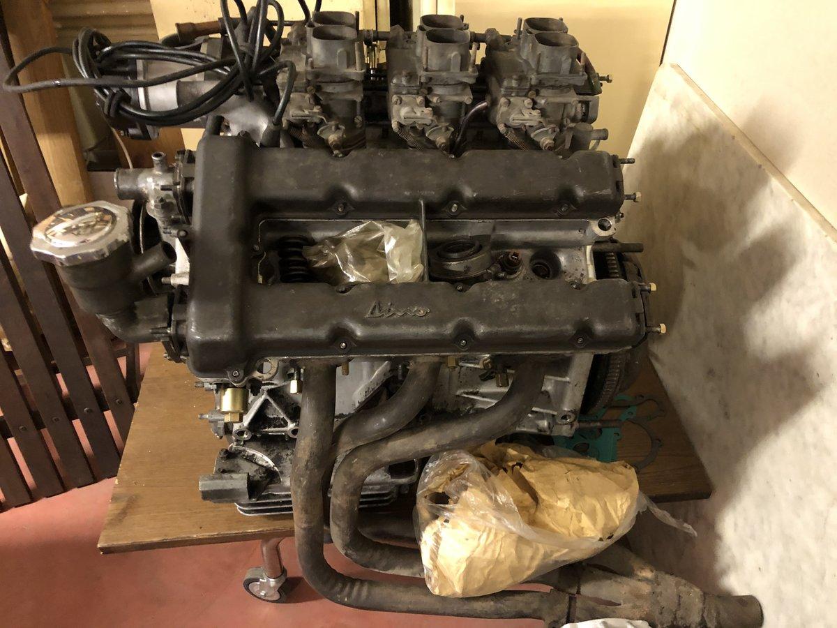 1967 Engine 206 Dino Spider Ferrari V 6 For Sale (picture 4 of 5)