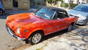 1977 Immaculate Fiat 124 Spider 1978  For Sale