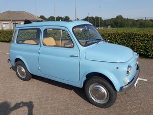 Picture of AUTOBIANCHI Giardiniera 500 1975 bleu light  10500 euro SOLD