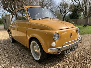 1971 Beautiful restored uk rhd fiat 500 lusso For Sale