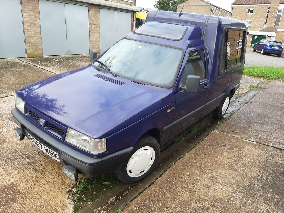 1997 Fiat fiorino micro camper 1.7 turbo diesel moted, For Sale (picture 1 of 5)