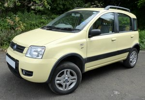 Picture of 2005 Fiat Panda 4x4 climbing ULEZ compliant
