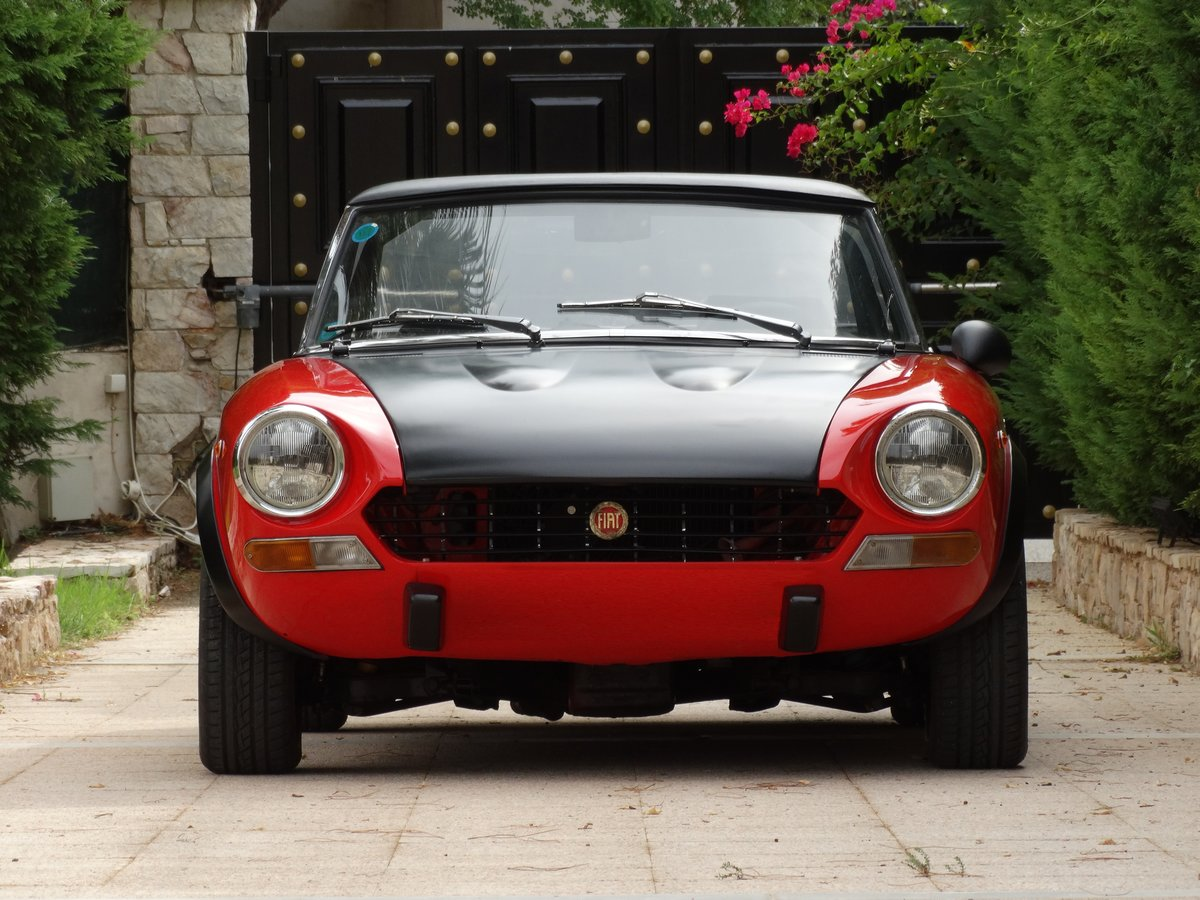 1973 Fiat 124 Spider Abarth Rally Stradale, fully serviced For Sale (picture 2 of 6)