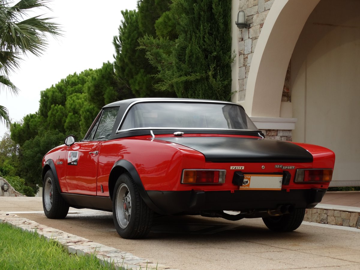 1973 Fiat 124 Spider Abarth Rally Stradale, fully serviced For Sale (picture 3 of 6)