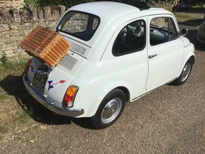 Fully restored and beautiful Fiat 500F