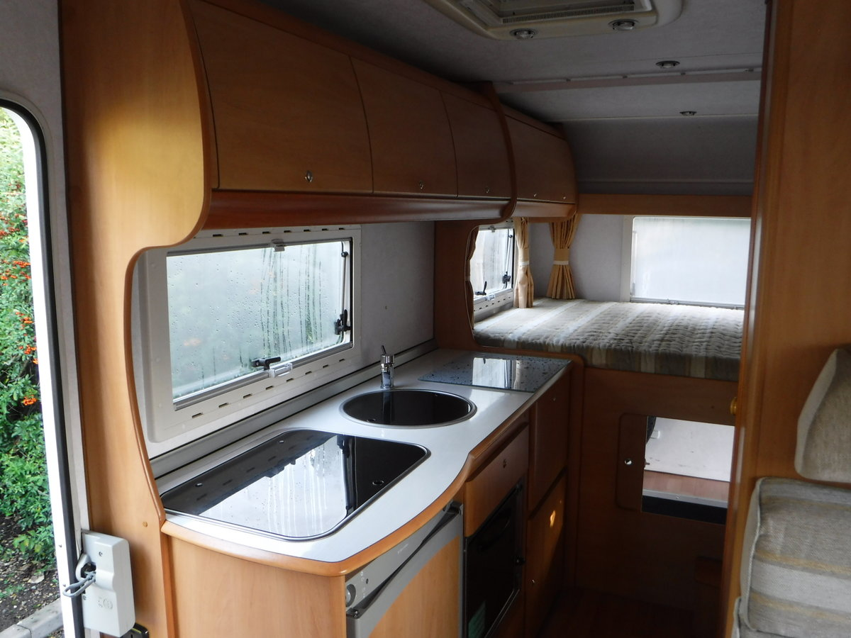 2003  6 Belted Seats Elnagh Joxy 6 Berth Motorhome with garage SOLD (picture 5 of 6)