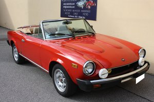 Picture of FIAT 124 CONVERTIBLE OF 1981