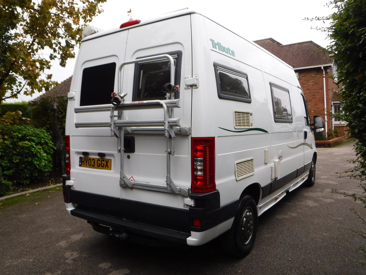 2003 Fiat Tribute Trigano 2 Berth, 4 Belted Seat Motorhome For Sale (picture 3 of 6)