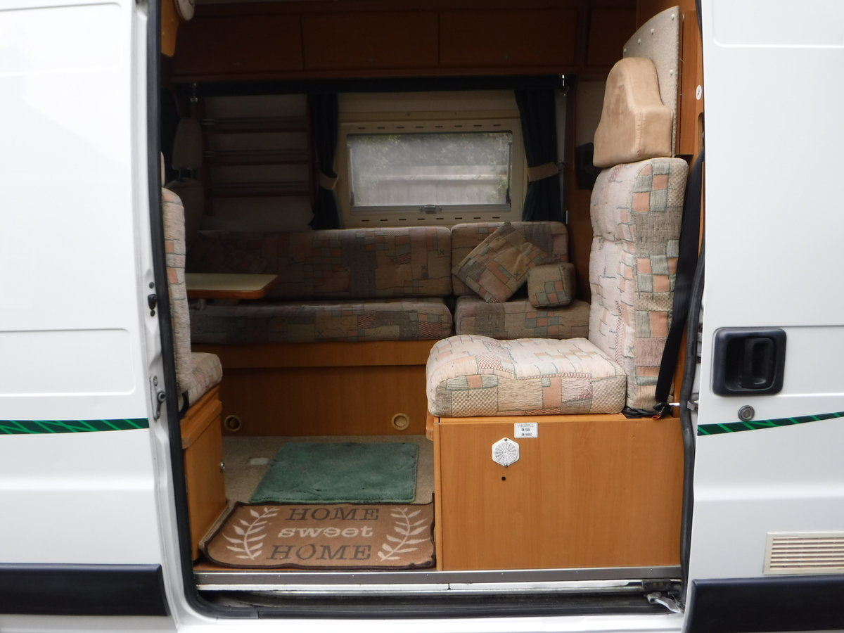 2003 Fiat Tribute Trigano 2 Berth, 4 Belted Seat Motorhome For Sale (picture 4 of 6)