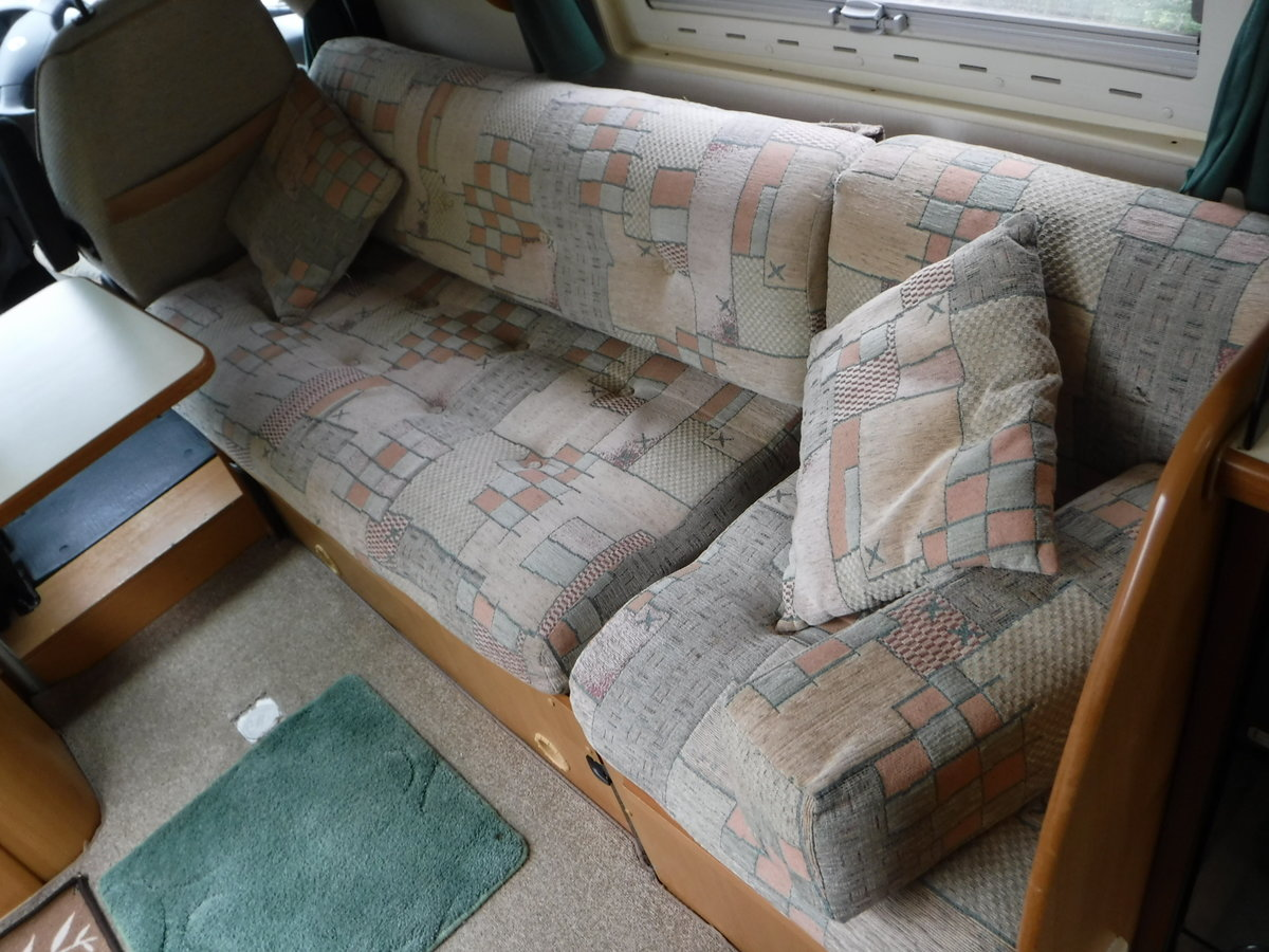 2003 Fiat Tribute Trigano 2 Berth, 4 Belted Seat Motorhome For Sale (picture 5 of 6)