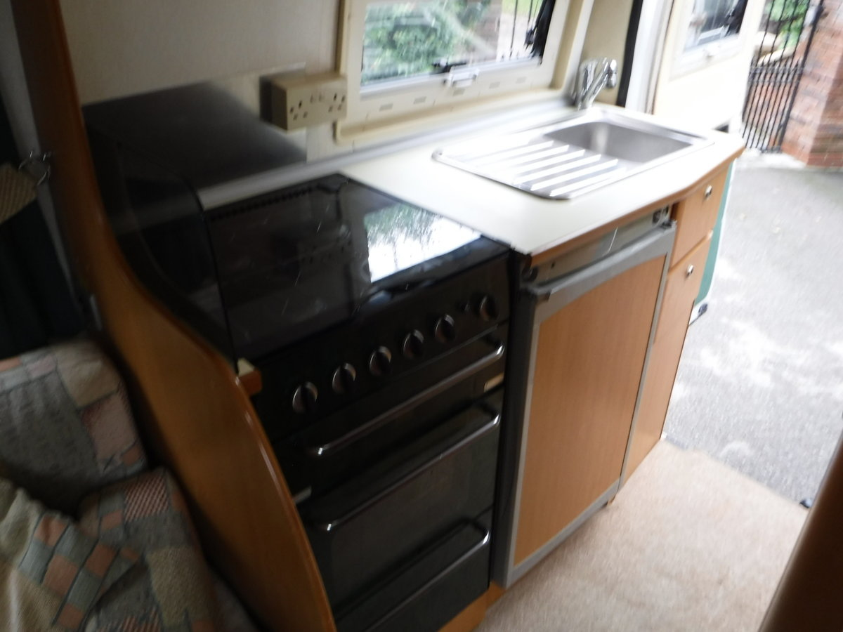 2003 Fiat Tribute Trigano 2 Berth, 4 Belted Seat Motorhome For Sale (picture 6 of 6)