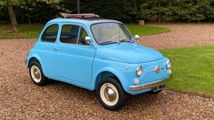 Picture of 1968 Fiat 500F-round speedo-Full restoration- interesting history